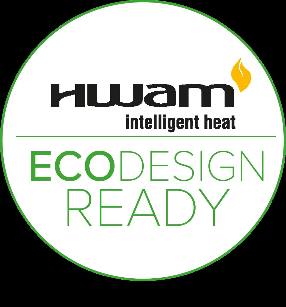 Alla HWAM-modeller är godkända enligt ECODESIGN 2022